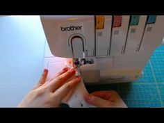 A quick tip for managing interior (concave) curves on your serger.