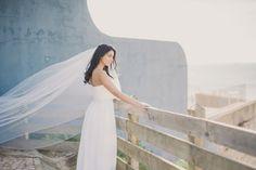 Bridal Session with dresses of Penhalta at Villa Sao Paulo, Estoril - Lisbon, Portugal www. Bridal Session, Bridal Shoot, Wedding Suits, Wedding Cakes, Wedding Dresses, Wedding Music, Wedding Day, Ocean View Wedding, Estoril