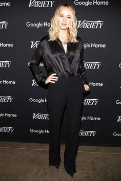 Jennifer Lawrence attends Variety Actors on Actors on November 12, 2017.