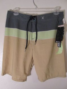 SALE! Mens Hurley Board Shorts Swimsuit 33   #Hurley #BoardShorts #surfer