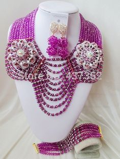 Find More Jewelry Sets Information about Gorgeous! Purple mixed silver Crystal Beads Nigerian wedding african beads jewelry set costume jewelry set AAC092,High Quality jewelry sets for girls,China jewelry curio Suppliers, Cheap jewelry scotland from Alisa's Jewelry DIY Store on Aliexpress.com