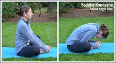 Yoga for Runners - Bound Angle Pose