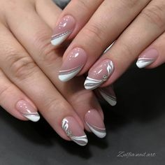 Easy to try nail trends, look here is enough - Page 7 of 140 - Inspiration Diary Classy Nails, Stylish Nails, Trendy Nails, Colorful Nail Designs, Acrylic Nail Designs, Nail Art Designs, Nails Design, Hot Nails, Swag Nails