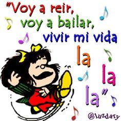 #ImagenParaBBM: Voy a reir voy a bailar vivir mi vida lalala con JoseNuVe