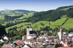 Waidhofen an der Ybbs www.at love this city! Austria, Maps, To Go, Old Things, City, Travel, Life, Blue Prints, Cities