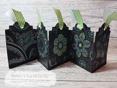 Erin fairclough  Colorista Dark – Moroccan Life tag  Matt Black card – Crafters companion .Metallic pencils – green , yellow , silver , nickel. #spectrumnoir #crafterscompanion #cardmaking