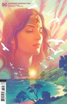 Wonder Woman Kunst, Wonder Woman Art, Justice League, Comic Book Artists, Comic Books, Mitch Gerads, Diana, Pop Culture Art, Dc Comics Art