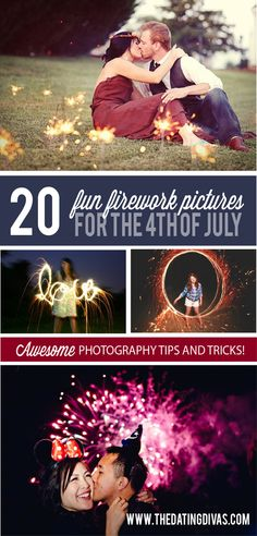 Great tips and ideas for cute pictures with fireworks on the Fourth of July! Holiday Photography, Love Photography, Engagement Photography, Travel Photography, Engagement Photos, Work Pictures, Cute Pictures, Amazing Pictures, 4th Of July Fireworks