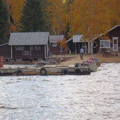 Sandy Beach Lodge fishing resort, Trout Lake Ontario