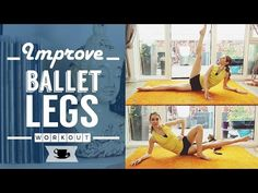 A ballet barre fitness workout is the best way to create and elegant posture, a toned body and keeping fit. Sometimes we find ballet intimidating especially . Ballet Barre Workout, Pilates Barre, Leg Training, Training Equipment, Marathon Training, Lean Legs, Thigh Exercises, Fitness Exercises, Excercise