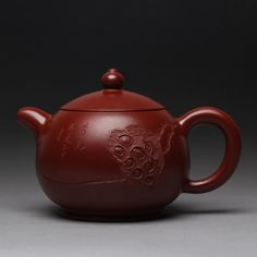 Authentic Yixing Teapot Purple Clay Masterpiece Ceramic Kung Fu Tea Set Health Care Tea Pot Dahongpao Yuan Qu Pot Boutique New #Affiliate