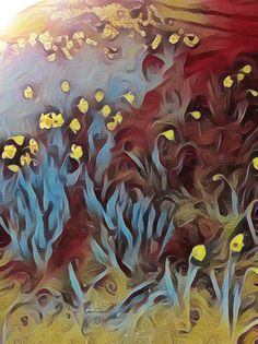 Golden Daffodils Pinterest Co, Daffodils, Artsy, Painting, Painting Art, Paintings, Painted Canvas, Drawings