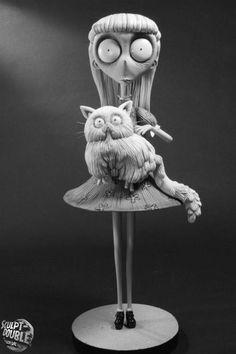 Weird Girl - Character Maquettes Sculpt-Double