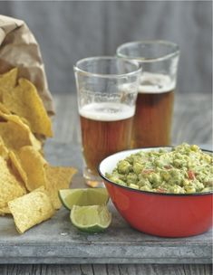 Looking for a no-cook snack for these dog days of summer? Sarah Leah Chase's Seaside Guacamole from her NEW ENGLAND OPEN-HOUSE COOKBOOK is refreshing and simple.