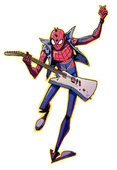The Anarchic Spider-man by JuliaMadrigal.deviantart.com on @DeviantArt