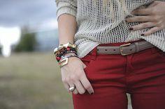 Red Skinnies