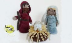 Nativity Scene crochet pattern. It is in Spanish but Google Chrome will translate it to English.