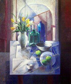 Vicente Gandia. 1935-2009. Pintor español radicado en Cuernavaca, Morelos.
