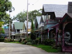 Oak Bluffs - Gingerbread houses