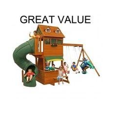 Outdoor-Playground-Equipment-Swing-Set-Playsets-Kids-Children-Backyard-Playhouse