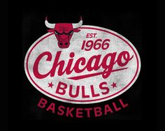 Retro Chicago Bulls & the year my parents were born! love <3