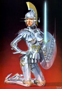 Hajime Sorayama: Sultry Centurion VIxen