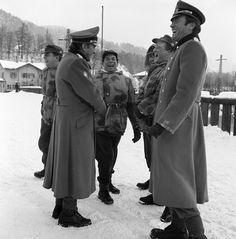 """Where Eagles Dare"" Richard Burton, Clint Eastwood 1968"