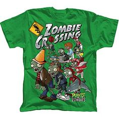"""Zombie Crossing"" boy's t-shirt"