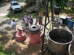 Info on Biochar and how to make your own kiln!