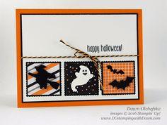 Spooky Fun Bundle card created by Dawn Olchefske for DOstamperSTARS Thursday Challenge #DSC195 #dostamping #stampinup
