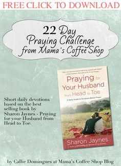 We are the soldiers leading the way to the throne for our men. Shoving evil aside and grabbing a hold of grace and mercy with both hands. Make your way to the throne with this 22 day praying challe...