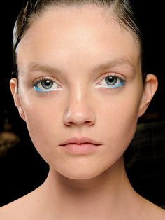 Cool New Eyeliner Looks You Have To Try: Makeup: OMBRÉ WATERLINE