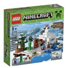LEGO 6102223 Minecraft 21120 The Snow Hideout Building Kit for sale online Minecraft Video Games, How To Play Minecraft, Lego Minecraft, Jungle Temple, Minecraft Creations, Lego Models, Brick Building, Lego Friends, Lego Brick