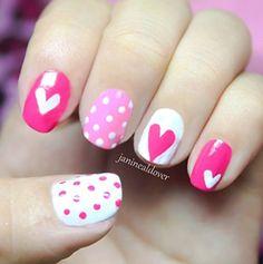 Estilo y +:  Nail Art para San Valentín