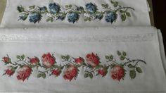Napkins, Cross Stitch Embroidery, Towels, Dinner Napkins