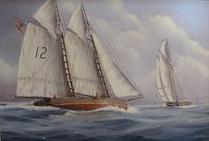 Nicholas Berger, The Gathering Storm, oil on panel, 30 X 43 inches Nantucket, The Gathering, Sailing Ships, Boat, Dinghy, Boats, Sailboat, Tall Ships, Ship