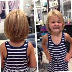 nice Toddler girl haircut. Little girl haircut. Bob