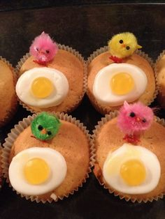 Cupcakes, Easter, Favorite Recipes, Treats, Breakfast, Muffins, Party Ideas, Diy, Hair Styles