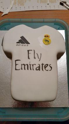 Tarta camisera Real Madrid