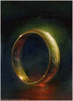 One of the most powerful artifacts in Middle-Earth, the One Ring was created by the Dark Lord Sauron in the fires of Mount Doom during the Second Age. His intent was to concentrate and enlarge his own power, and to exercise control over the other Rings of Power, which had been made by Celebrimbor and his people with Sauron's assistance. In this way, he hoped to gain lordship over the Elves and all of the other races in Middle-Earth.