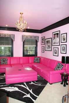 Guys get their man cave, so why not a Ladies cave (or something like that). I would SO do this if I could.