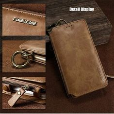 Business Leather Wallet Phone Bag Cases For iPhone 6 For iPhone X 8 7 Plus Case Mobile Cover Iphone Leather Case, Iphone Wallet Case, Leather Wallet, Pu Leather, Iphone 8, Iphone Cases, Mobile Covers, 5s Cases, Iphone Models