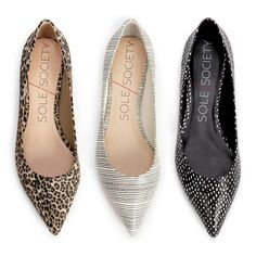 Pointed toe flats that pair perfectly with everything