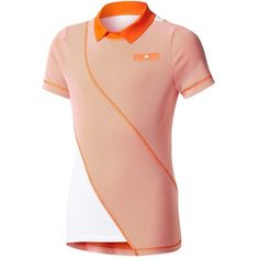 Dress your daughter up like the proper princess she is with the Stella McCartney Barricade Tennis Tee from adidas! With a mix of polyester and elastane, this top will be both highly stretchable and breathable. With a high material count and a semi-stiff collar, this ability to provide a breeze is essential.