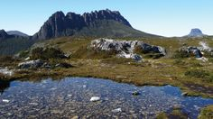 Overland Track is one of the best walks in Australia. This is Barn Bluff, Cradle Mountain. Simply stunning, if you can manage to hike there! Trail Guide, What A Wonderful World, Tasmania, Hiking Trails, Wonders Of The World, Wilderness, The Good Place, Tourism, Track