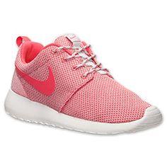 Women's Nike Roshe Run Casual Shoes| Finish Line | Light Base Grey/Geranium/Summit White
