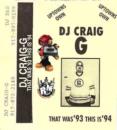 DJ Craig G: That was '93, This is '94 Dj, Passion, Life