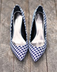 Cover heels with fabric