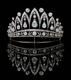 Empress Eugenie's tiara by Faberge