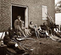 Injured Soldiers Fredericksburg